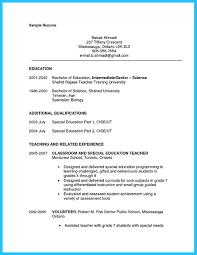 Special Education Teacher Job Description Resume Free Resume