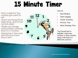 3 minute timer for powerpoint teachers take out free 15 minute timer