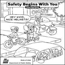 Small Picture safety coloring pages