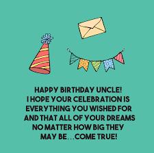 Happy Birthday Uncle Quotes Top Happy Birthday Wishes