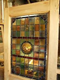 stained glass doors sydney