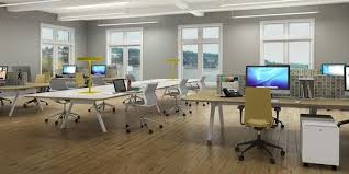 Open Office Design Enchanting Open Office Benching System