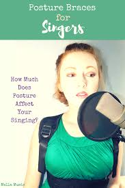 I decided to order a posture brace that would allow me train myself over time. Could this help sing? find out. How Wearing Posture Brace Can Improve Your Singing \u2013 Mella Music