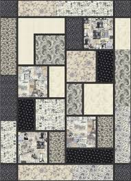 Big Block Quilt Patterns Impressive Big Block Quilt By Black Cat Creations Free Pattern Quilting
