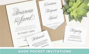Basic Invite Wedding Invitations Wedding Enclosures
