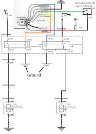 my electric fan swap page 6 jeepforum com and if you would like to have it wired a three way switch for the option of on off auto you would wire it like this
