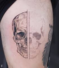 Ascii Art Tattoos By Tattoo Artist Andreas Vrontis That You Wished