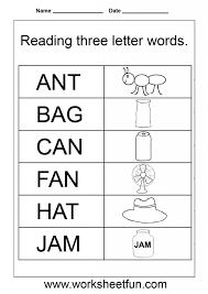 Kindergarten Free Reading Worksheets For Kindergarten Math ...