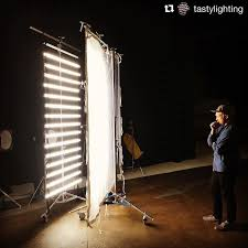 lighting sets. Image By @tastylighting | @kyleramseymoe Contemplates The Soft Beauty Of Our @quasarscience 16 Lighting Sets