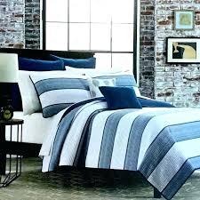 black and white striped duvet cover black and white striped duvet set striped quilt sets blue and white cabana stripes with navy blue trim quilt set black
