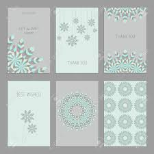 American Greetings Templates Vector Set Of Of Vintage Cards Templates In Ethnic American