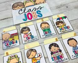 Preschool Classroom Job Chart Printables Classroom Jobs That Kids Will Love Proud To Be Primary