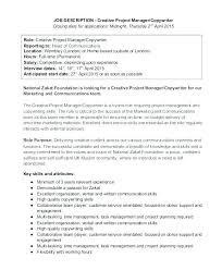 Copywriter Job Description Impressive Automotive Service Manager Job Description Resume Automotive