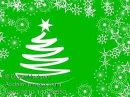 green christmas background clipart. Simple Background Clipart Illustration Of A Green Christmas Tree Background With Snowflakes To G