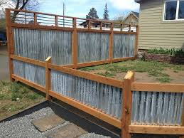 corrugated metal fence diy corrugated metal fencing corrugated metal cost how