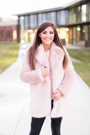 zara pink fur coat pearls pleather and the perfect pink fur coat by