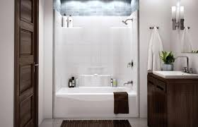 modern tub shower combo bathroom cool fiberglass tub shower combo one piece bathroom shower tub enclosures