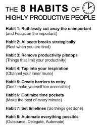 best communication and leadership images  8 habits of highly productive people