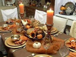 fascinating dining table applying fall decorations ideas with candle holders completed cups and plates centerpieces for wheat grass centerpieces fall