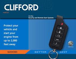 clifford 2 2 matrix car alarm remote engine start clifford matrix 2 2 x remote start car alarm system