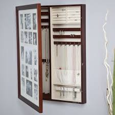 trendy picture frames wall mount picture frame jewelry box wall hanging jewelry armoire