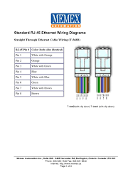 rj45 phone wiring diagram annavernon rj45 wiring diagram straight through diagrams database