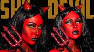 red devil makeup heaven she devil makeup tutorial jordan hanz kristen