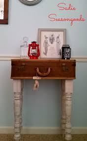 No-Baggage-Fee Dcor: Vintage Suitcase Table