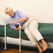 Bedding Surprising Bed Rails For Seniors Bed Rail