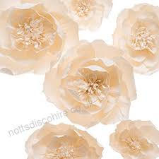 Paper Flower Archway Paper Flower Decorations Handcrafted Flowers Giant Paper