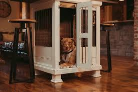 Designer dog crate furniture room design plan Viagemmundoafora 1jpg Rebuttonco Buy Luxury Dog Kennels Kennel Crate
