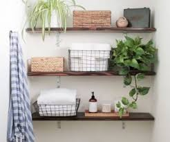 bathroom open shelving unit modern brilliant 26 simple wall storage ideas shelterness with 19