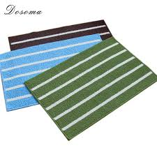 2019 coffee blue green stripe classic absorbent bathroom mats non slip kitchen carpets rectangle living room rug from calars 36 03 dhgate com