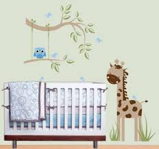 baby room tree decals