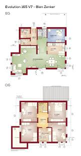 Grundriss Einfamilienhaus Modern Mit Satteldach Erker Anbau