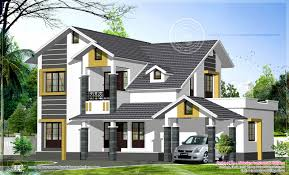 Sloping Roof Design Ideas Sloping Roof Home Exterior Feet House Design Plans Home