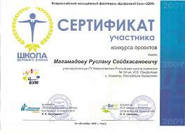 Портфолио пользователя Личный сайт пользователя dviger com Сертификат участника конкурса проектов на Цифровом Буме 2009