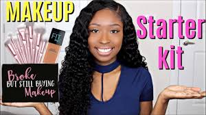 beginner makeup tips starter makeup kit s for women of color