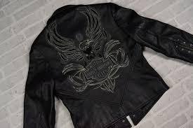 harley davidson leather authentic women s jacket