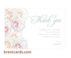 Wedding Shower Thank You Cards Bridal Shower Card Message Wedding