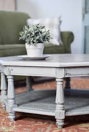 painted coffee table makeover fusion