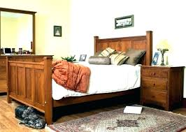 mission style bed frame – westsups