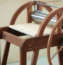 wooden etching press by elliot gorham a melbourne based designer maker