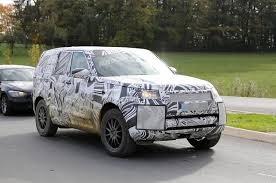 autocar new car release dates2017 Land Rover Discovery new pictures show SUV almost