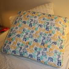 23 best Quillow Quilt Pillow images on Pinterest | Quilt pillow ... & A beautiful animal printed large size quillow by Natural Quilts.  #Quillow#PrintedQuillow Adamdwight.com