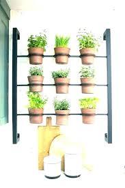 indoor wall herb garden planter box vertical nz