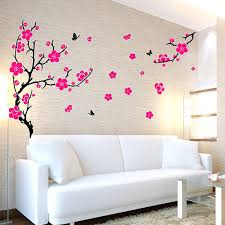 funky wall decals wall stickers funky vinyl wall decals plum blossom wall  sticker wall decals