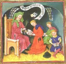 """Résultat de recherche d'images pour """"ecolier 12e siècle gravure"""""""