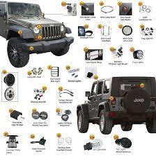 jeep wrangler jk easy lighting www jeep4x4center com jeep