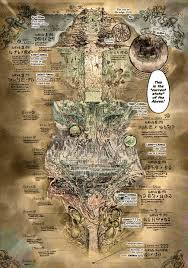 Made In Abyss Chart Image Result For Made In Abyss Map Abyss Anime World Map